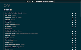 Screenshot of mDL - Music Downloader