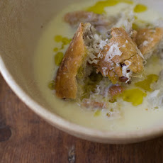 Richard Olney's Garlic Soup