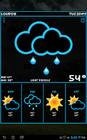 Screenshot of Weather Rise Free