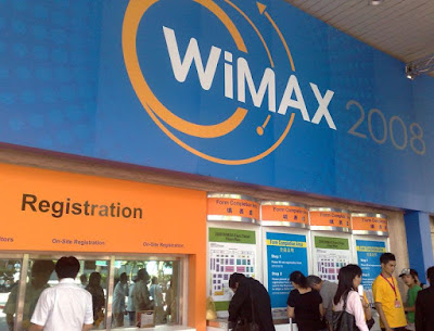 [Event]Wimax Expo 2008參觀小心得!
