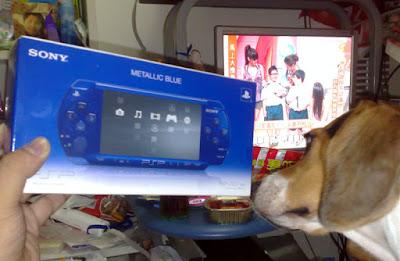[Pocket]Lucky!金屬藍PSP入手!