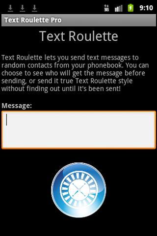 Text Roulette PRO Edition