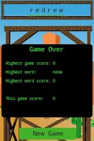 Screenshot of Arcade Hangman Game