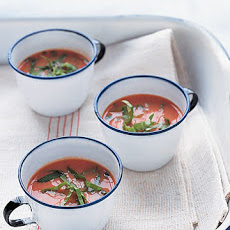 Cold Tomato-Buttermilk Soup