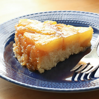Fresh Pineapple Upside Down Cake (traditional and gluten free recipes)