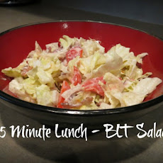 5 Minute Lunch – BLT Salad