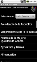 Screenshot of Gobierno en Línea Venezuela