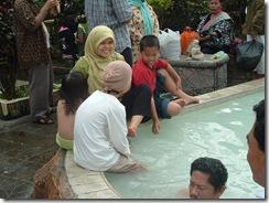 Sibayak hot spring