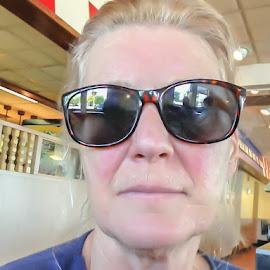 My selfie by Leslie Nu - People Portraits of Women ( person, female, woman, lady, people, sunglasses )