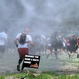Tuff Mudder by William Stacy - Sports & Fitness Other Sports ( veterans, sports, tuff mudder, charity, running )