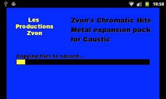 Screenshot of Chromatic Hits 2 - Metal