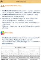 Screenshot of Grammar Express : Tenses Lite