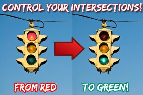 紅綠燈轉換臨