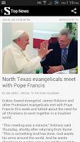 Screenshot of Ft Worth Star-Telegram News