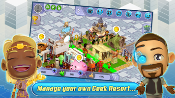 Screenshot of Geek Resort