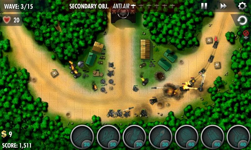 iBomber Defense Pacific Screenshot 2