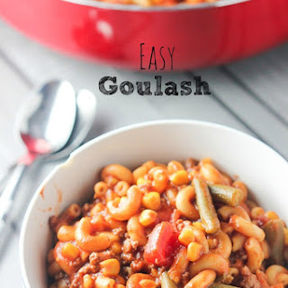 Goulash With Corn Recipes