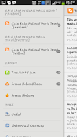 Screenshot of Kata Kata Motivasi Mario Teguh