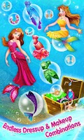 Screenshot of Mermaid Princess Makeover Game