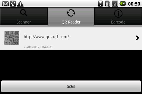 玩生產應用App QR and Barcode reader免費 APP試玩