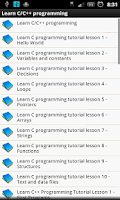 Screenshot of Learn C/C++  Programing (new)