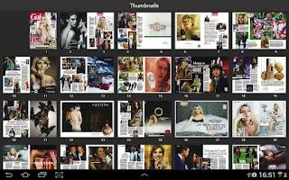 Screenshot of Gala Magazin