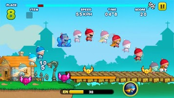 Screenshot of Turbo Kids