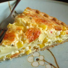 Fresh Corn Quiche