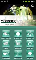 Screenshot of Visit McKinney Texas