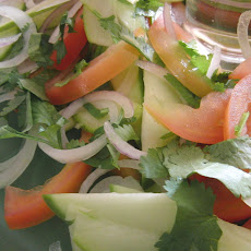Green mango Summer salad