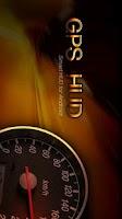 Screenshot of GPS HUD