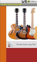 Screenshot of The Best Guitar Songs FREE