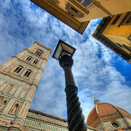 Florence-Point of view by Tonino De Rubeis - City,  Street & Park  Historic Districts
