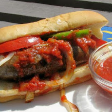 Fannie Farkle's Hot Italian Sausage Sandwiches