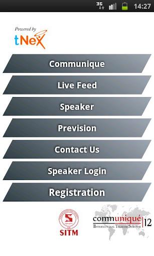 Communiqué Mobile App