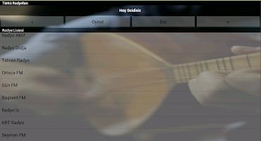 Screenshot of Türkü Radyoları