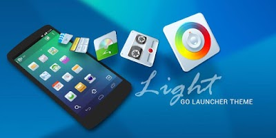 Screenshot of Light GO Launcher Theme