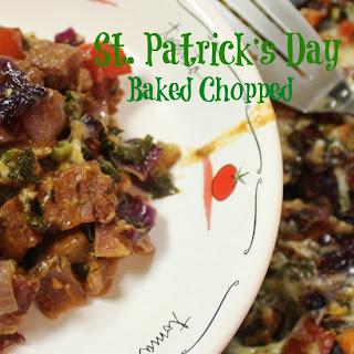 St. Patrick's Day Baked Chopped