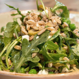 Farro Spoon Salad with Arugula