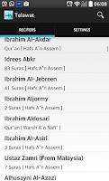 Screenshot of Telawat Quran
