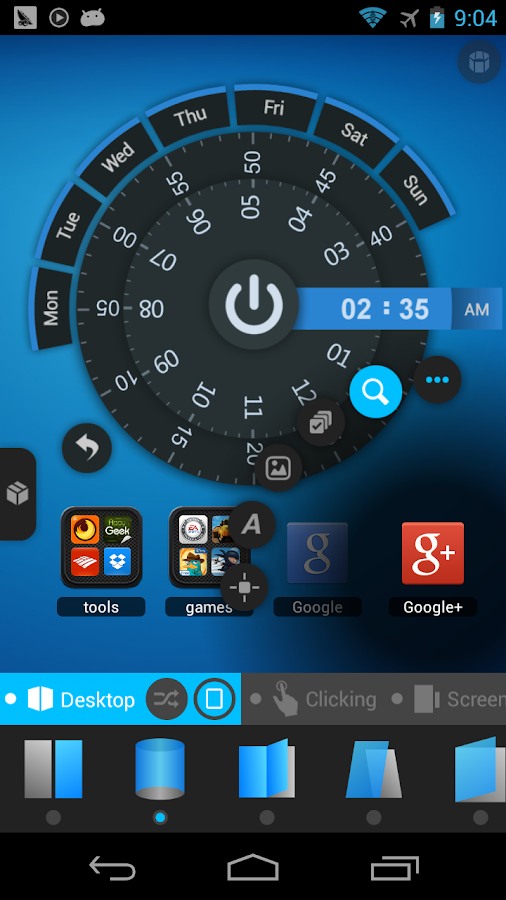 TSF Launcher 3D Shell Screenshot 7