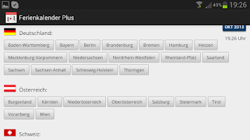 Screenshot of Ferienkalender Plus +