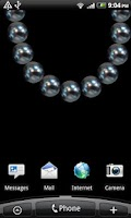 Screenshot of Pearls Live Wallpaper