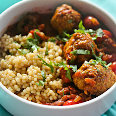Pork Meatball Vindaloo With Pearl Couscous