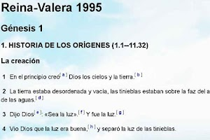 Screenshot of Biblia Reina Valera 1995
