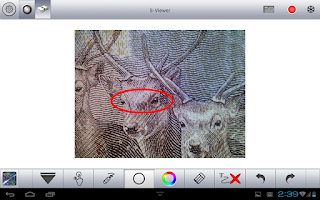 Screenshot of S-Viewer for tablet