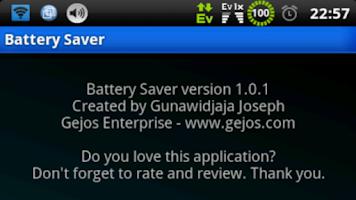 Screenshot of Battery Saver (root)