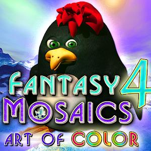 Cover art Fantasy Mosaics 4 Art of Color