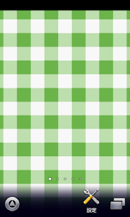 cute green plaid wallpaper - screenshot