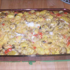 Healthy Vegetable and Cheese Strata